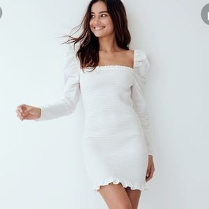 Aritzia Wilfred Free Mini Dress